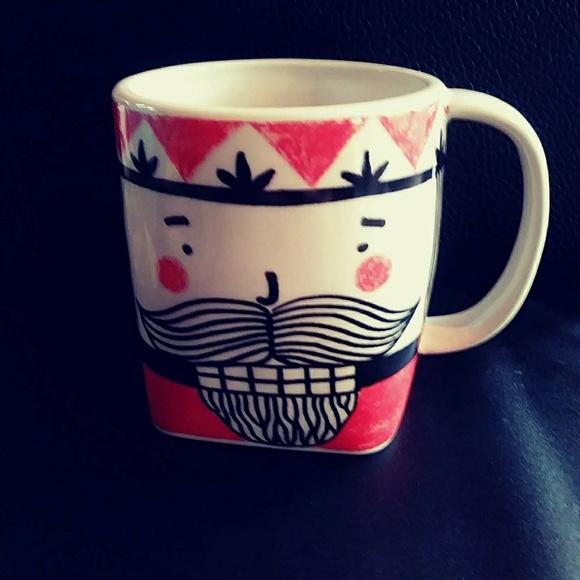 Anthropologie Other - Kristina Saywell For Anthropologie Mug/Cup KRAFTY